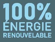 100% énergie renouvelable