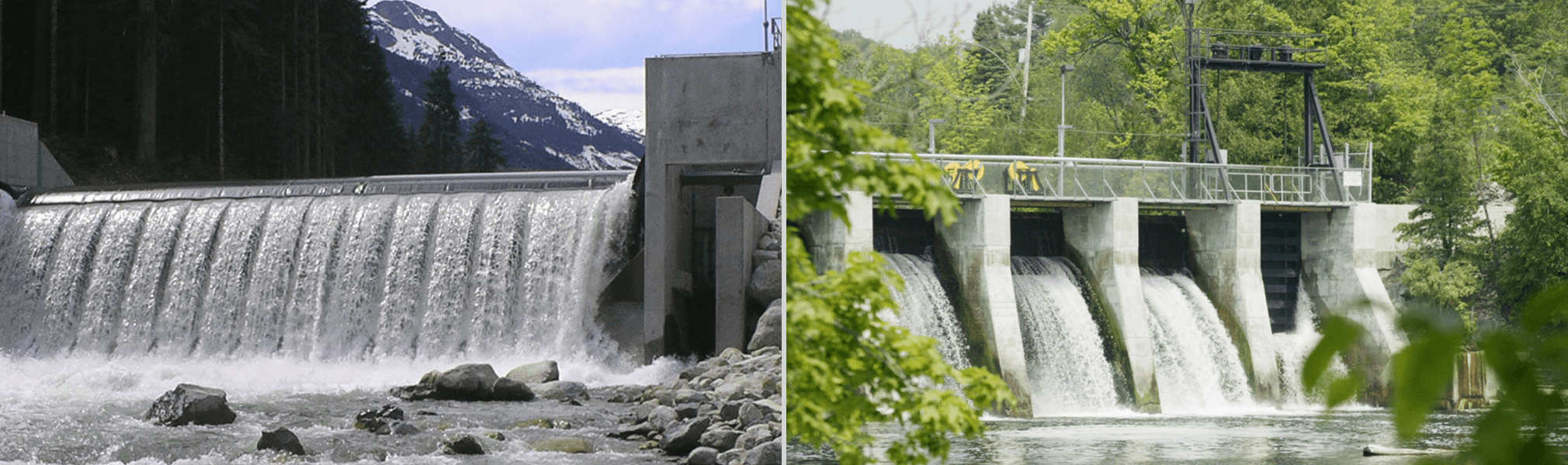 Rutherford Creek hydroelectric facility - Glen Miller hydroelectric facility