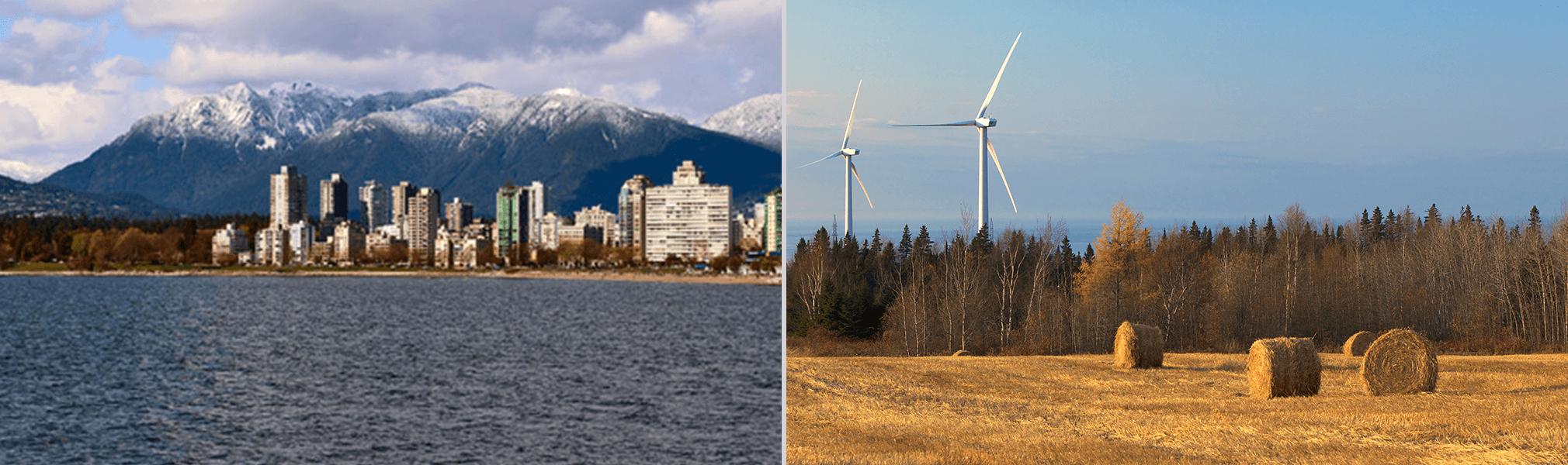 2006 Innergex ouvre un bureau à Vancouver - Parc éolien de Baie-des-Sables