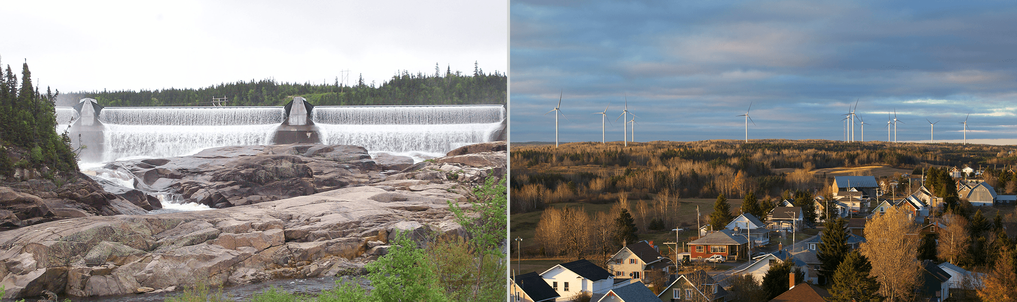 Magpie hydroelectric facility - Viger-Denonville wind farm