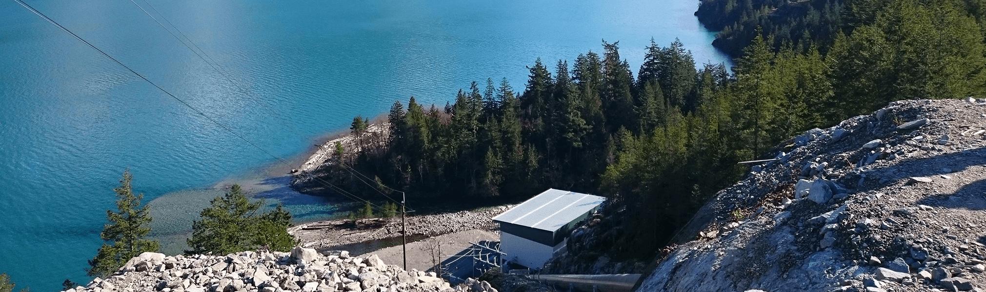 Centrale hydroélectrique Tretheway Creek