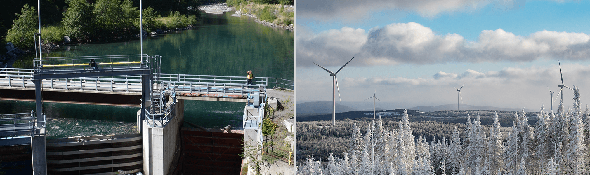 Walden North hydroelectric facility - Mesgi'g Ugju's'n wind project